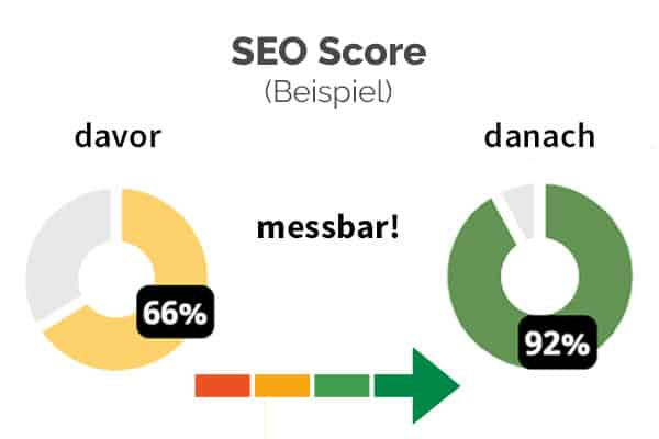 SEO Check - messbare Website Optimierung - SEO Score