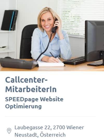 SEO Jobs: Callcenter-, Office-Mitarbeiterin